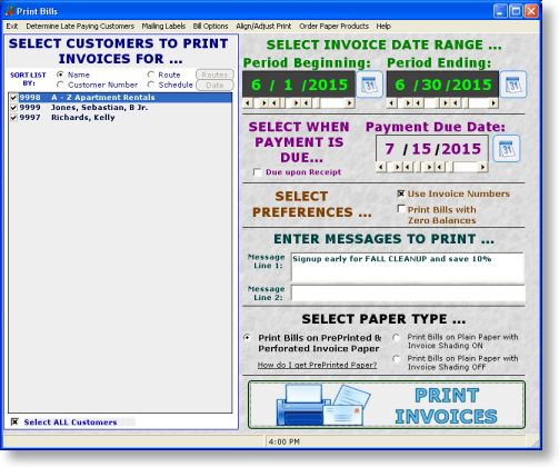 Lawncare & Landscape Billing & Invoicing Software