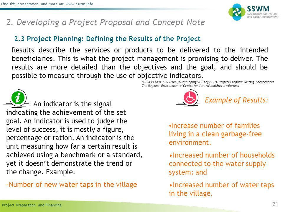 Project Proposal and Concept Note - ppt download