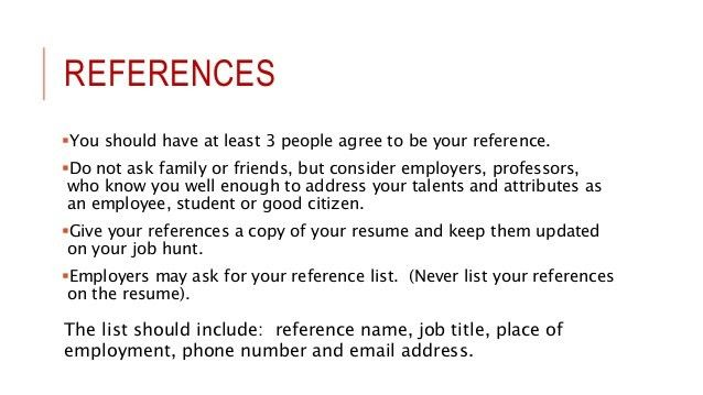 how to write a reference in a resume marvellous resume references