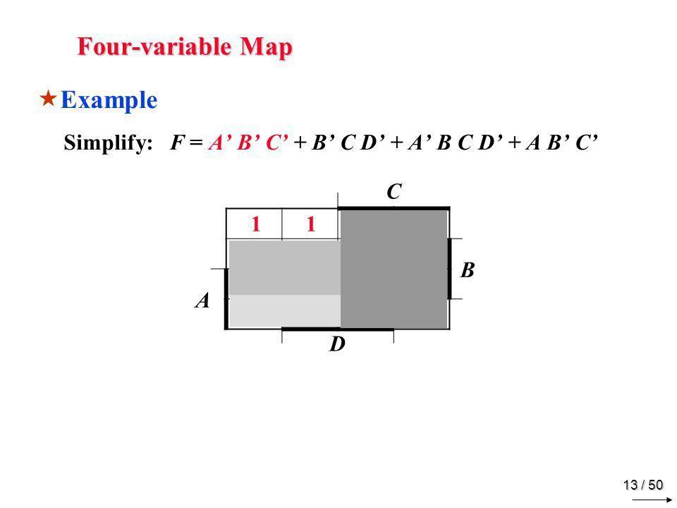 Karnaugh Map Adjacent Squares - ppt download