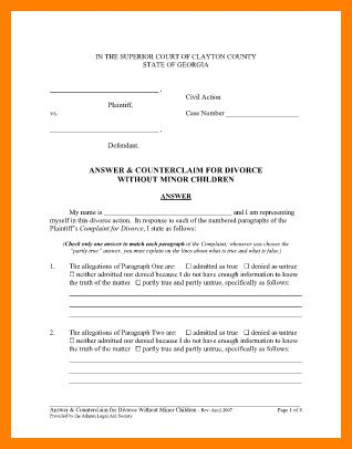 9+ sample of divorce decree | it cover letter