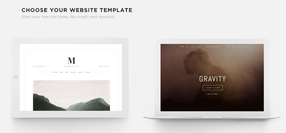 Squarespace Help - Choosing the right template