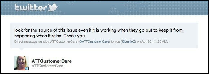 Twitter Customer Service: Two partial DMs from AT&T do not make a ...
