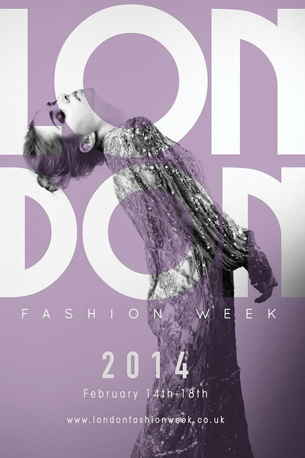 London Fashion Week Poster on Behance | fashion poster | Pinterest ...