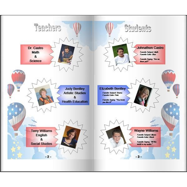 Yearbook Template Powerpoint - Tomium.info