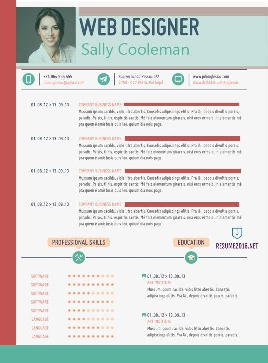 The Best Resume Templates For 2016 2017 Word Stagepfe Curriculum ...