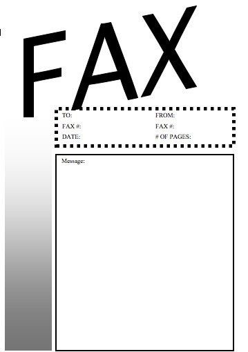 Basic #4 Fax Cover Sheet at FreeFaxCoverSheets.net