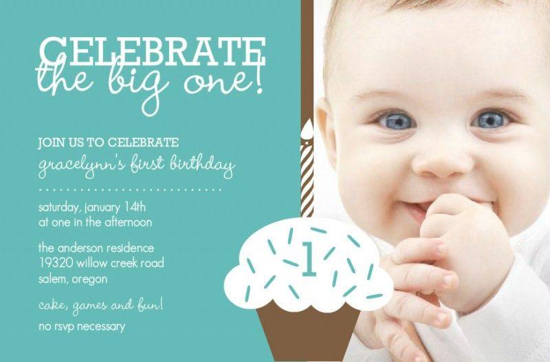 1St Birthday Invitations Templates – Namcr – unitedarmy.info