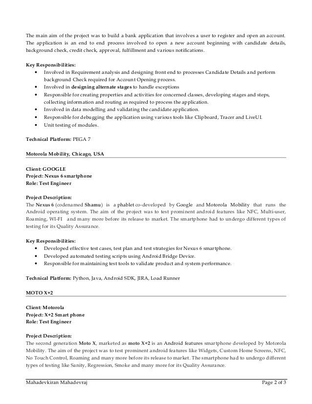 3 Different Type Of Resumes - Contegri.com