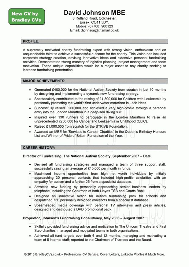 personal statement for resume sample curriculum vitae personal