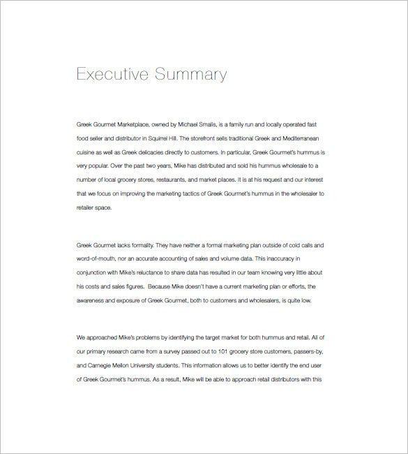 Restaurant Marketing Plan Template - 12+ Free Word, Excel, PDF ...