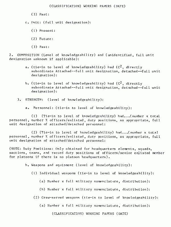 FM 34-52: Intelligence Interrogation - Appendix G