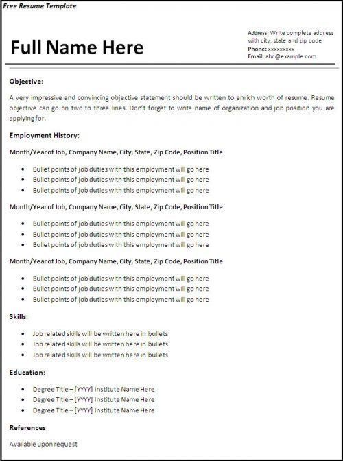 does openoffice have resume templates open office resume template