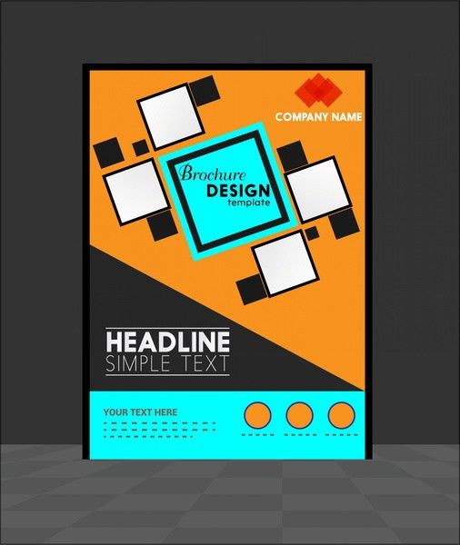 Adobe Illustrator Brochure Template Free Vector Download (217,761 .