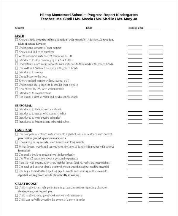 Progress Report Templates - 37+ Free Sample, Example, Format ...