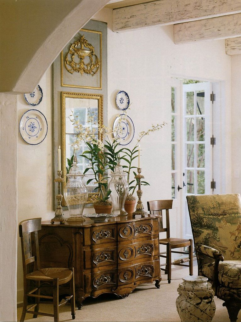 Shabby chic and a little bit of french country on for French country accents