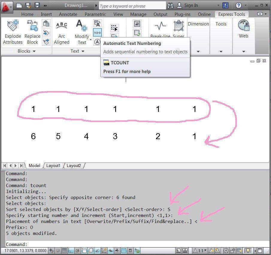 Auto Increment Letter - Autodesk Community