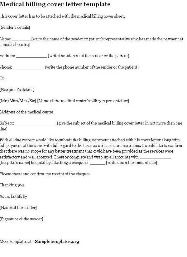 cover letter for medical billing and coding. technician resume ...