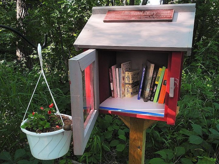 137 best Little Free Library images on Pinterest | Free library ...