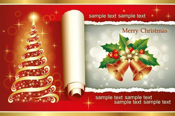 Free Christmas Greeting cards, Icons ,Decorative Elements ...