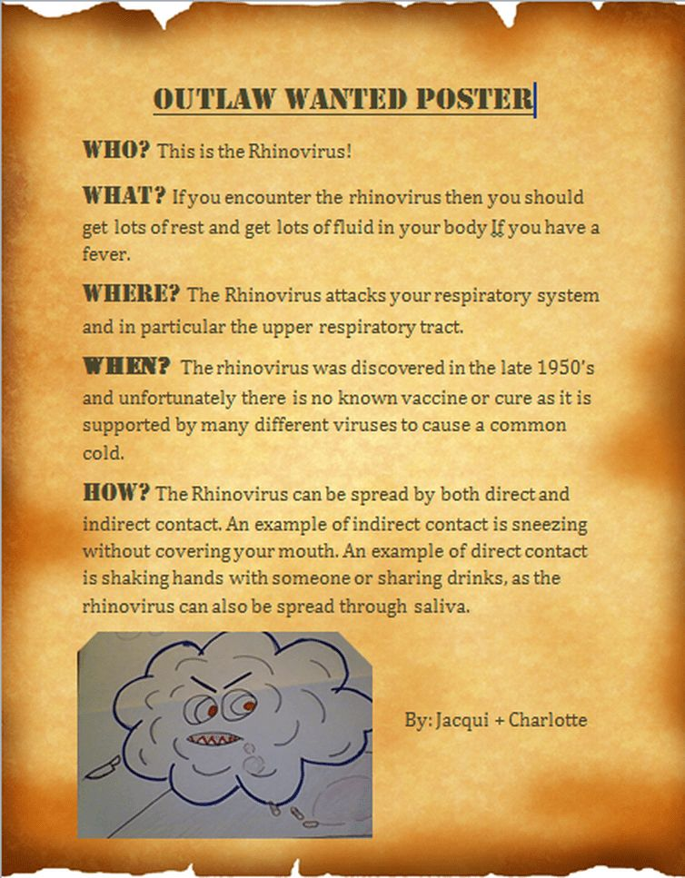 1 - Outlaw Wanted Poster - Charlotte canvin