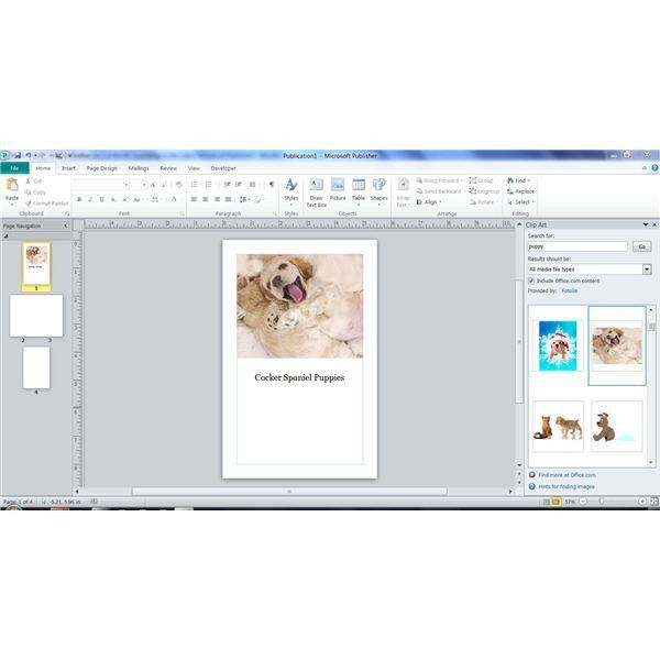 Learn How to Create a Booklet in Microsoft Publisher 2003, 2007 ...