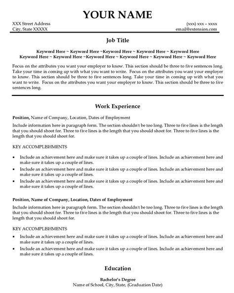 Key Accomplishments Resume Examples. accountant resume example ...