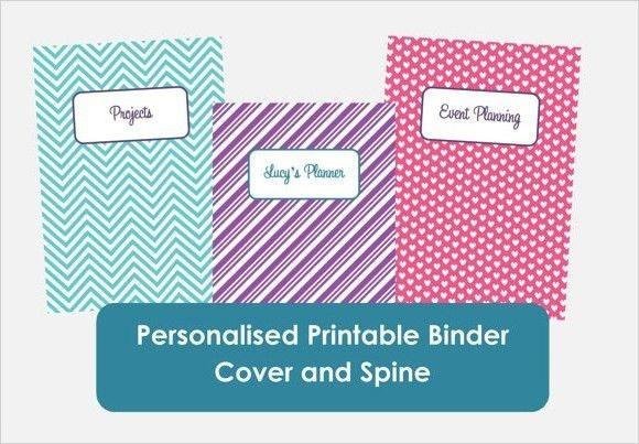 Binder Insert Template | Template Idea