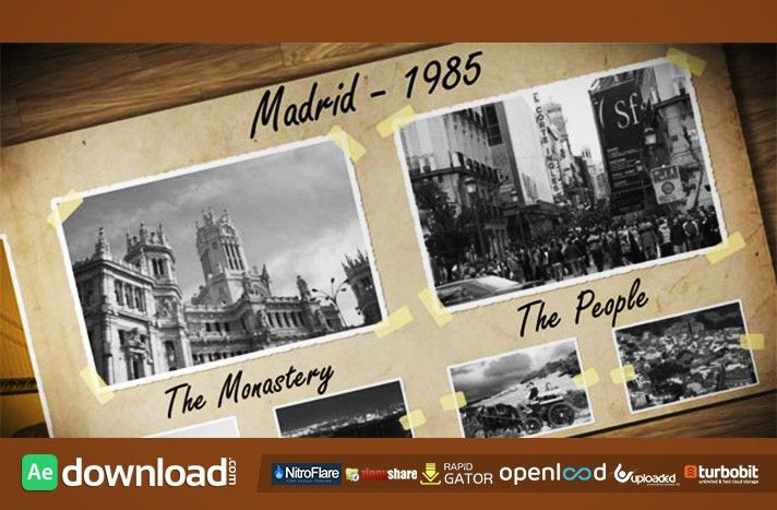 OLD PHOTO ALBUM FREE DOWNLOAD VIDEOHIVE TEMPLATE - Free After ...