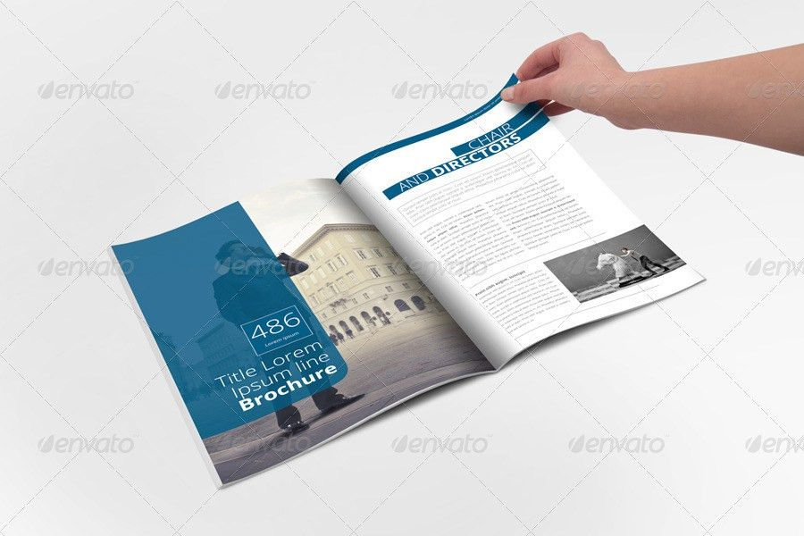 Annual Report Brochure Indesign Template by Braxas | GraphicRiver