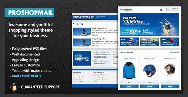 Top 30+ Best Email Advertising Templates   Free & Premium Templates