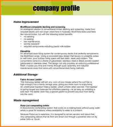 10+ business profile example | worker resume