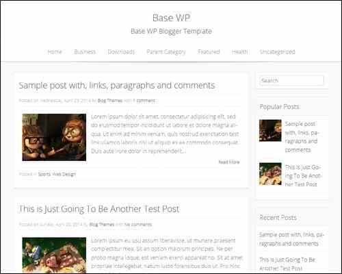 275+ Best Free Blogger Templates | Designrazzi | blog inspiration ...