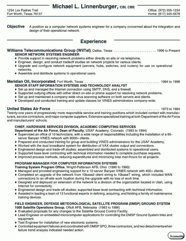 Systems Engineer Resume | berathen.Com