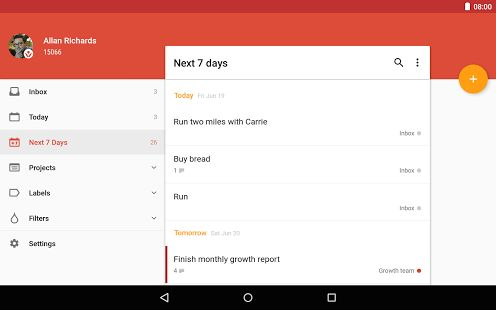 Todoist: To-Do List, Task List - Android Apps on Google Play