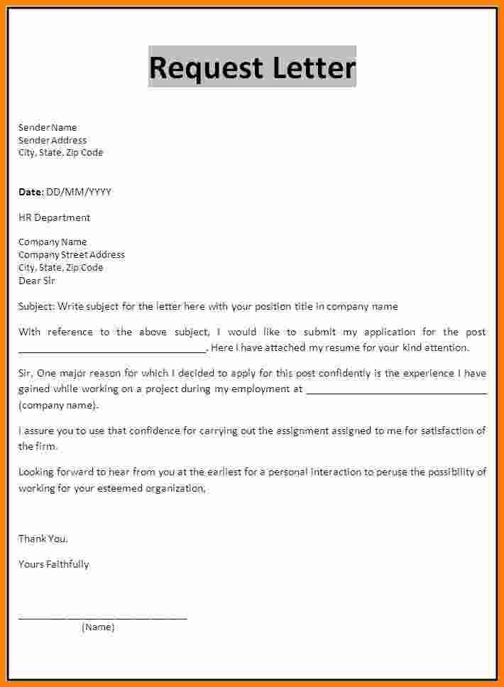 invoice letter format request templateg how write college ...