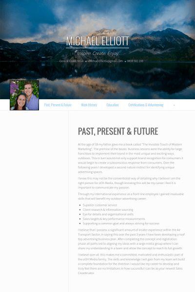Travel Consultant Resume samples - VisualCV resume samples database