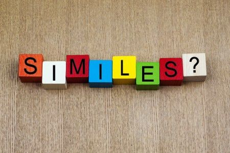 100 Similes | Easy and Hard Simile Examples | Ereading Worksheets