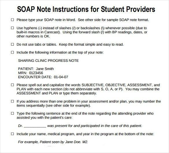 Soap Notes Example 14 Soap Note Examples Soap Notes Dentistry – Soap Note Example