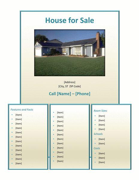 Apartment Flyer Template | Brochure Templates