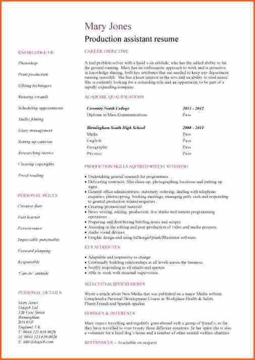 8+ sample college student resume no work experience - Budget ...