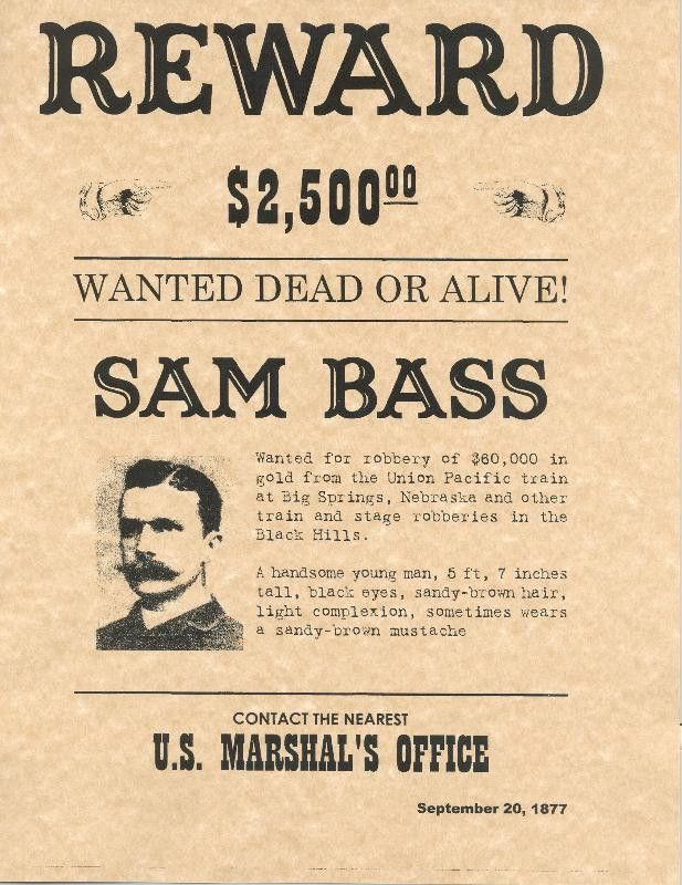 13 Best Images of Old West Wanted Posters Printable - wild west ...