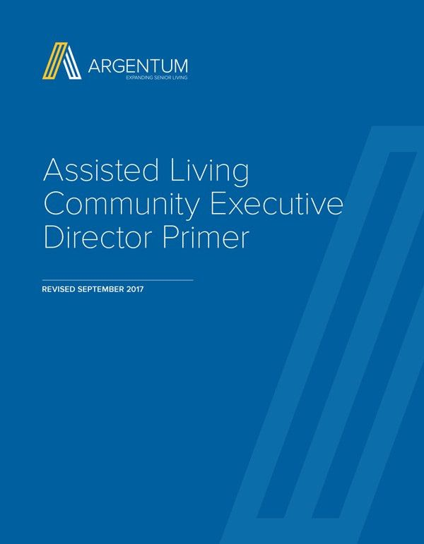 Assisted Living Executive Director Certification Program - Argentum