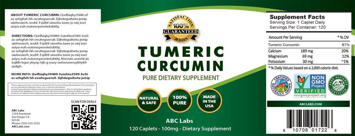 Health Supplement Manufacturers | Supplement Label Design