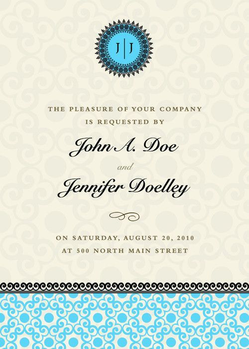 Vintage Floral invitations cover design vector 03 - Vector Cover ...