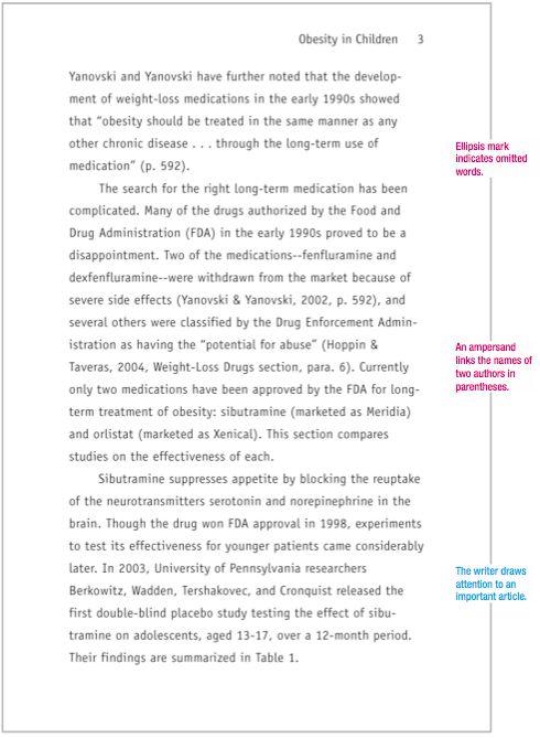 Sample APA paper | MLAFormat.org