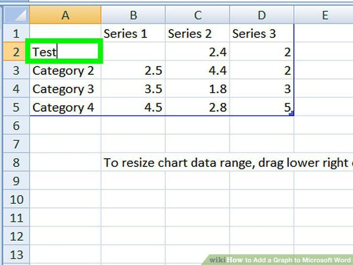 How to Add a Graph to Microsoft Word: 11 Steps (with Pictures)