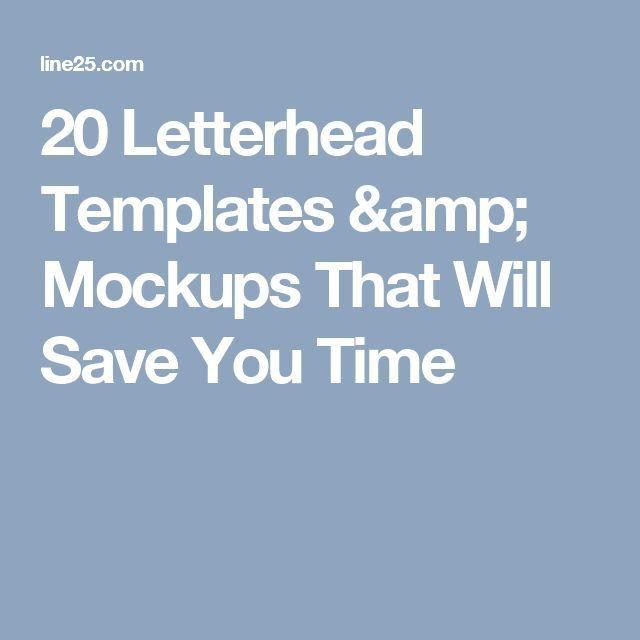 The 25+ best Free letterhead templates ideas on Pinterest | Free ...