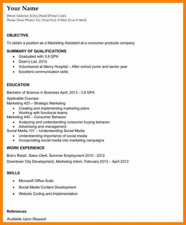 4+ resume objective examples for any job | forklift resume