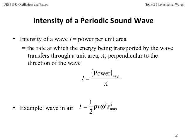 Topic 5 longitudinal wave